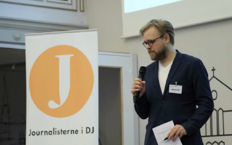 Rasmus MP, Journalisterne i DJ